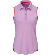 Women's 3-Stripes Sleeveless Polo