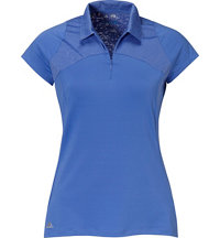 Women's Mix Media Sport Short Sleeve Polo