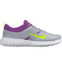 Women's Akamai Spiked Golf Shoes - Smmt White/Wolf Gray/Cosmic Purple