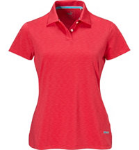 Women's Space Dye Short Sleeve Polo