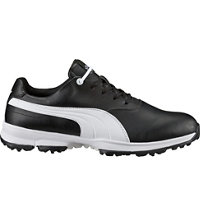 Men's Golf Ace Spiked Golf Shoes - Black/White