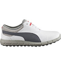 Men's Puma Ignite Spikeless Golf Shoes - White/Turbulence
