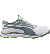 Men's BIODRIVE Spiked Golf Shoes - White/Tradewinds