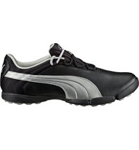 Women's Puma Sunnylite V2 Spikeless Golf Shoes - Black/Puma Silver