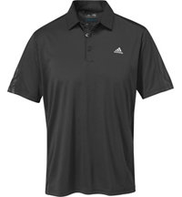 Men's Debossed 3-Stripe Short Sleeve Polo