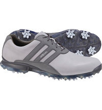 Men's Adipure ZT Spiked Golf Shoes - Clear Onix/Dark Silver Metallic