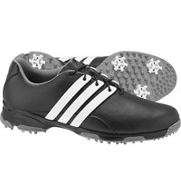 Men's Pure TRX Spiked Golf Shoes - Core Black/Ftwr White/Dark Silver Metallic