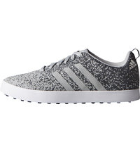 Men's Adicross Primeknit Spikeless Golf Shoes - Clear Onix/Onix/Ftwr White