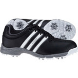 Junior's 360 Traxion Spiked Golf Shoes - Core Blk/Ftwr Wht/Iron Met