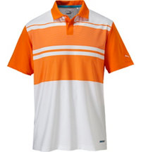 Men's Patternblock Short Sleeve Polo