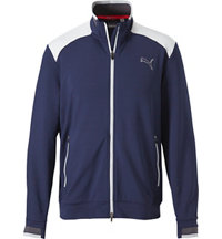 Men's Golf Track Long Sleeve Jacket