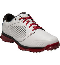 Men's X Nitro Spiked Golf Shoes - White/Grey/Crimson (# M182-18)