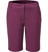Women's Solid Tech Bermuda Shorts