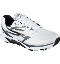 Men's Go Golf Blade Spiked Golf Shoes - White/Black (#53544-WBK)