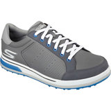 Men's Go Golf Drive 2 Spikeless Golf Shoes - Grey/Blue (#53546-CCBL)
