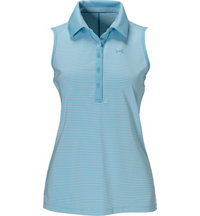 Women's Zinger Stripe Sleeveless Polo