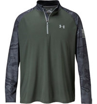 Men's Wounded Warrior Freedom Tech Quarter-Zip Pullover
