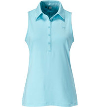 Women's Zinger Solid Sleeveless Polo