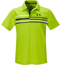 Boy's Straight Flight Short Sleeve Polo