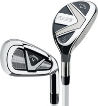 Lady Edge 4H-6H, 7-PW, SW Iron Set with Graphite Shafts