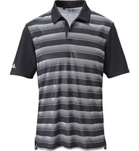 Men's Block Stripe Short Sleeve Polo