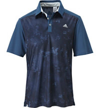 Men's climacool Geo Print Short Sleeve Polo