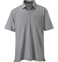 Men's Crest Short Sleeve Polo