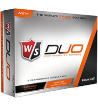 DUO Orange Golf Balls