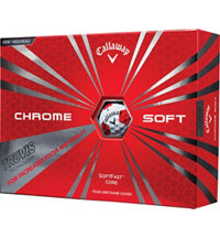 Chrome Soft Golf Balls with Truvis Technology