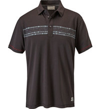 Men's Herringbone Short Sleeve Polo