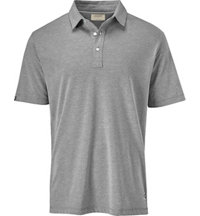 Men's Cotton Blend Short Sleeve Polo