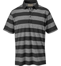 Men's Yarn Dyed Colorblock Short Sleeve Polo