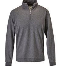 Men's Half-Zip Long Sleeve Sweatshirt