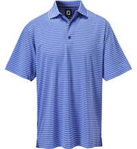 Men's Double Knit Short Sleeve Polo