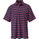 FootJoy Men's Lisle Stripe Short Sleeve Polo