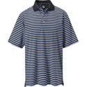 FootJoy Men's Multi Stripe Short Sleeve Polo
