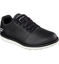 Men's Elite Spikeless Golf Shoes - Black/White (#53530-BKW)