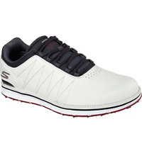 Men's Elite Spikeless Golf Shoes - Wht/Nav/Red (#53530)