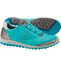 Women's BIOM Hybrid 2 Spikeless Golf Shoes - Turquoise