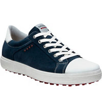 Men's Casual Hybrid Spiked Golf Shoes - Marine/Wht (#152004-51284)