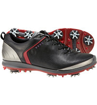 Men's BIOM G2 GTX Spiked Golf Shoes - Black/Brick
