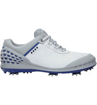 Men's Golf Cage Spiked Golf Shoes - White/Royal