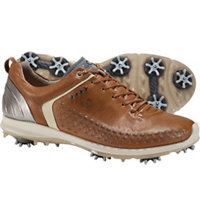 Men's BIOM G2 Spiked Golf Shoes - Camel/Oyster (#130614-59399)