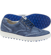 Women's Casual Hybrid II Wing Tio Spikeless Golf Shoes - True Nvy (#122003-01048)