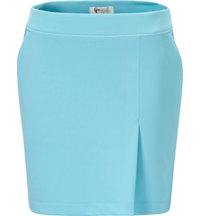 Women's Piped Pleat Skort