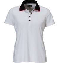 Women's Piped Short Sleeve Polo