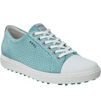 Women's Casual Hybrid Spikeless Golf Shoes - Aquatic Dots (#122013-05196)