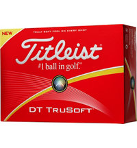 Personalized DT TruSoft White Golf Balls