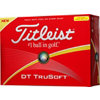 TITLEIST Personalized DT TruSoft Yellow Golf Balls