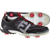 Men's Freestyle Saddle Spiked Golf Shoes - Blk/Wht/DkGry (FJ# 57333)